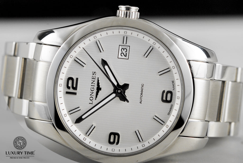 Longines Conquest Classic Automatic 40mm Mens Watch