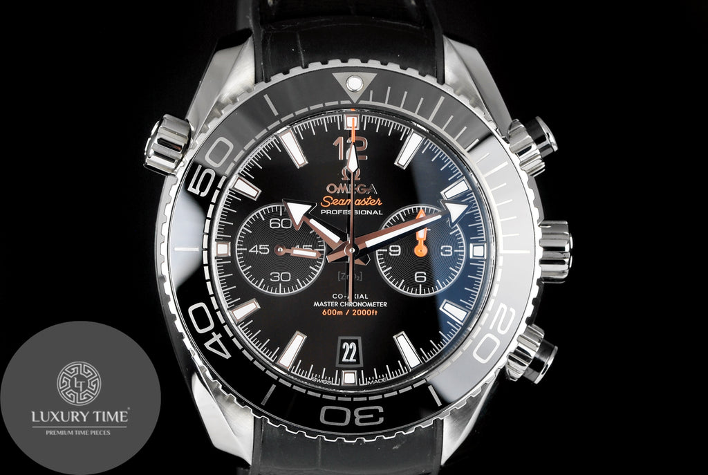 Omega Planet Ocean 600m Co-Axial Master Chronometer Chronograph 45.5mm Mens Watch