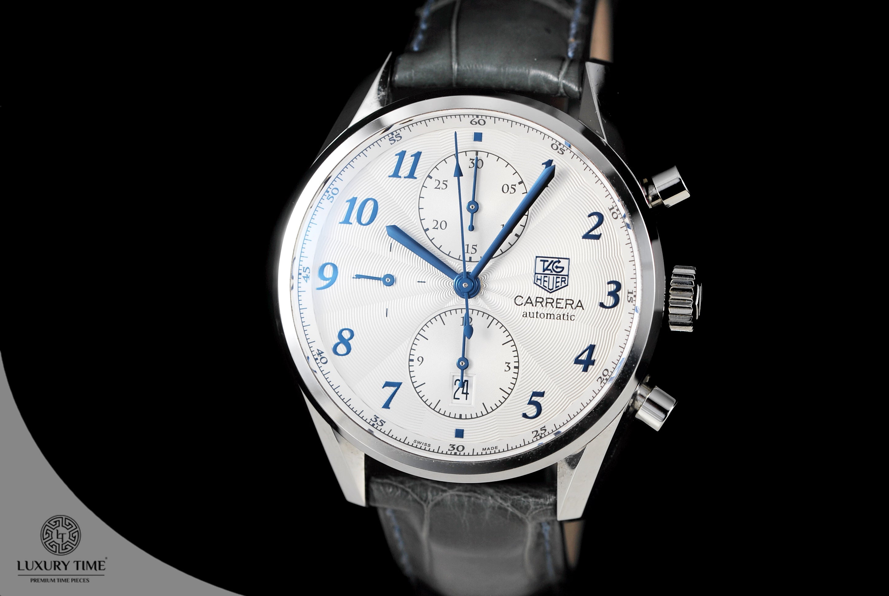 bed04649b99 Tag Heuer Carrera Heritage Chronograph Automatic Mens Watch - WatchtimeSA