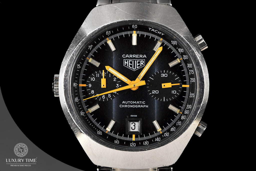 Heuer Carrera Vintage Chronograph Men's Watch