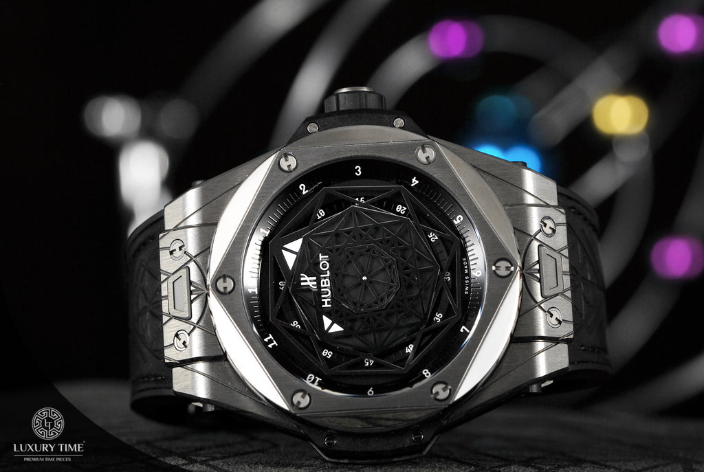 Hublot Big Bang Sang Bleu Titanium Limited Edition Mens Watch