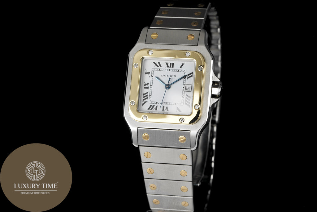 Cartier Santos Galbee Automatic Mens Watch