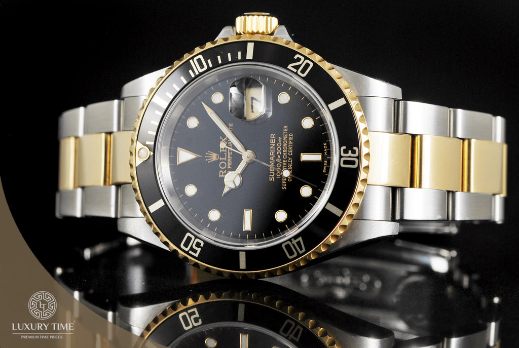 Rolex Submariner Two Tone Men's Watch