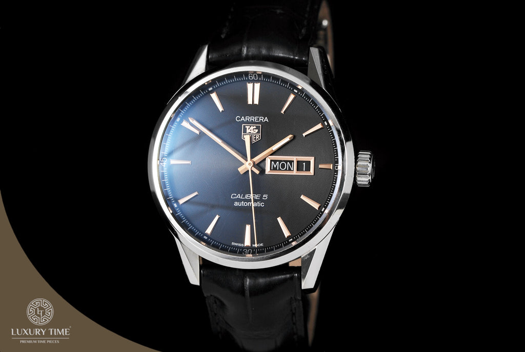 Tag Heuer Carrera Calibre 5 Day‑Date Automatic Men's Watch