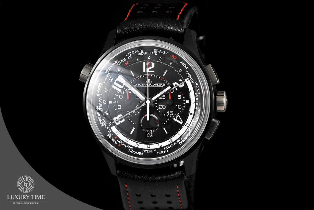 Jaeger Lecoultre Amvox Worldtime Automatic Chronograph Men's Watch