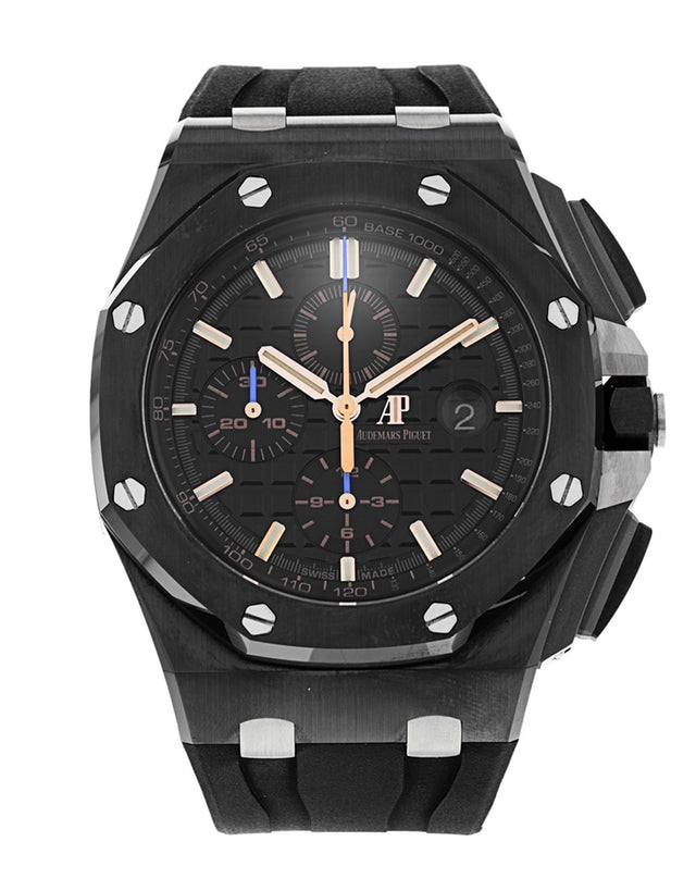 Audemars Piguet Royal Oak Offshore Ceramics Black Automatic Mens Watch
