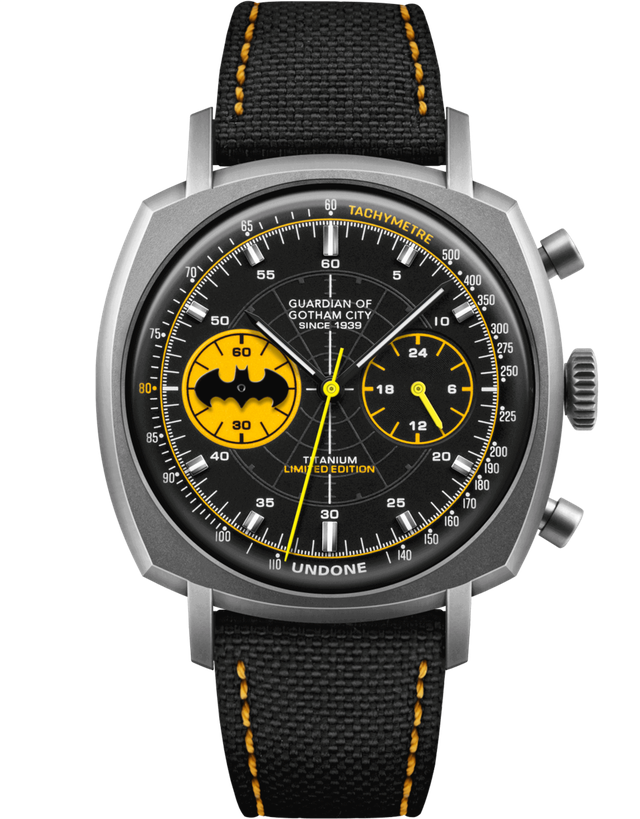 Undone Batman Caped Crusader Mens Watch