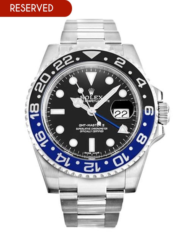 Rolex GMT Master II Men's Watch.