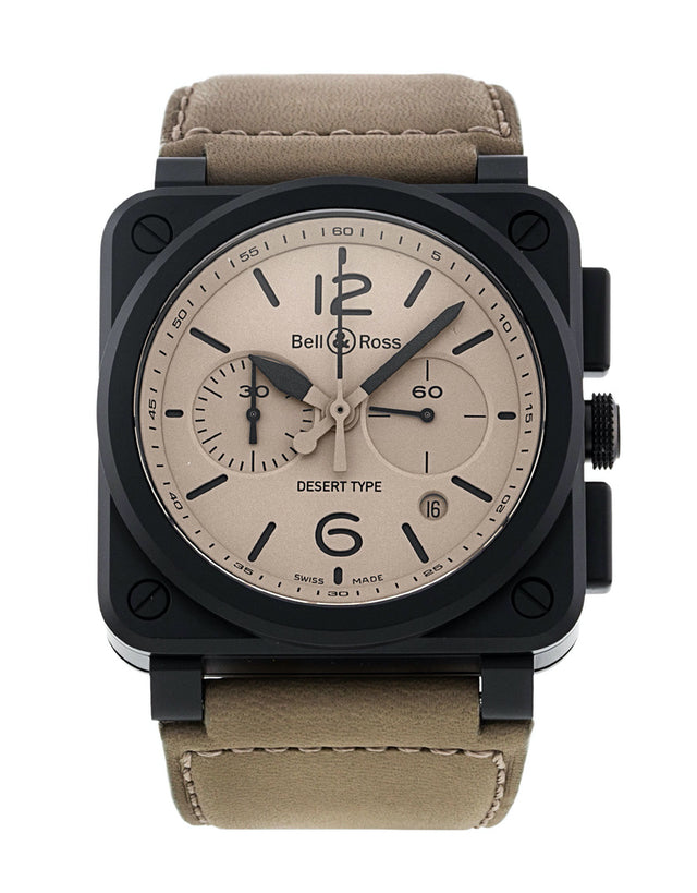 Bell and Ross BR03-94 Chronograph Desert Type Men's Watch
