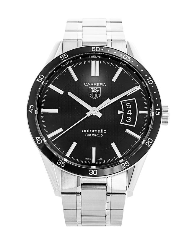 Tag Heuer Carrera Calibre 5 Black Dial Men's Watch