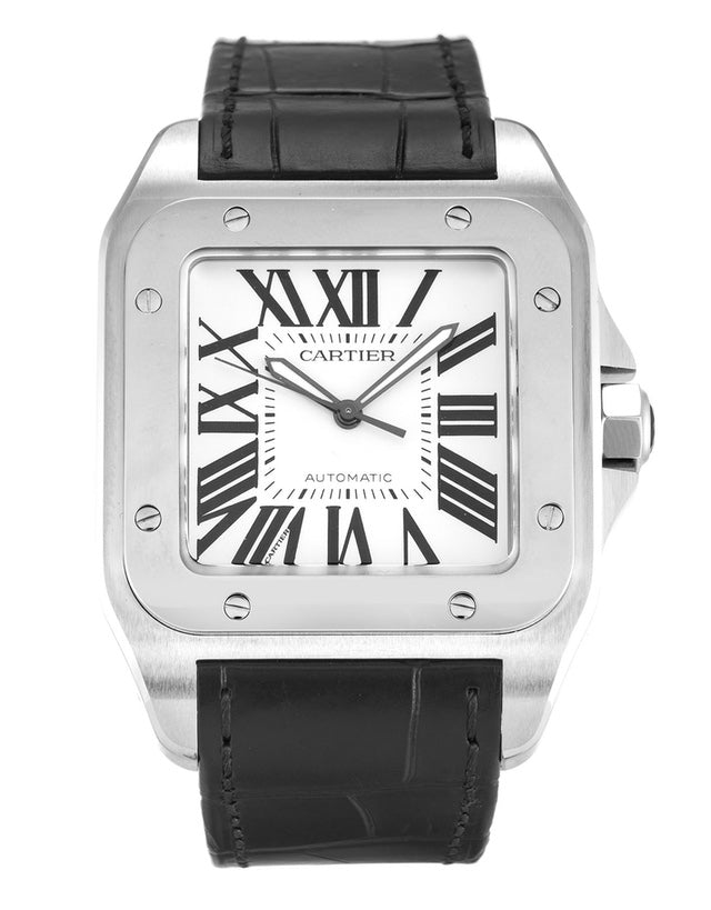 Cartier Santos 100 Automatic Men's Watch
