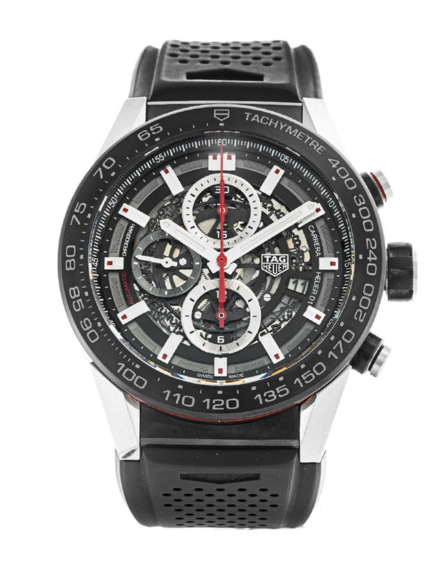 Tag Heuer Carrera Caliber Heuer 01 Skeleton 45mm Mens Watch
