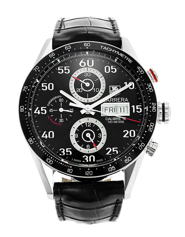 Tag Heuer Carrera Chronograph Day-Date Automatic Men's Watch