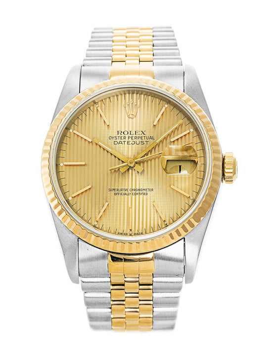Rolex Datejust Stainless Steel & Yellow Gold Men's Watch