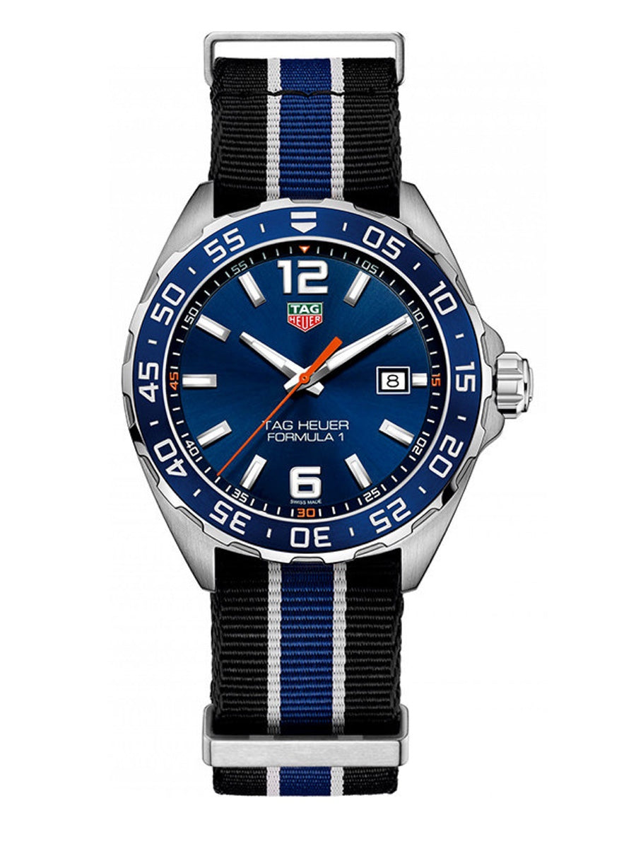 Tag Heuer Formula 1 Quartz Blue Nato Strap Men's Watch