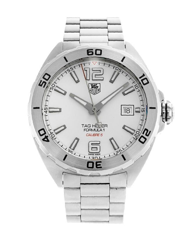 Tag Heuer Formula 1 Automatic White Dial Men's Watch