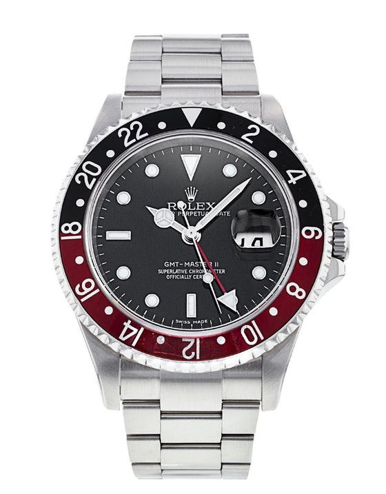 Rolex Gmt Master II Men's Watch .