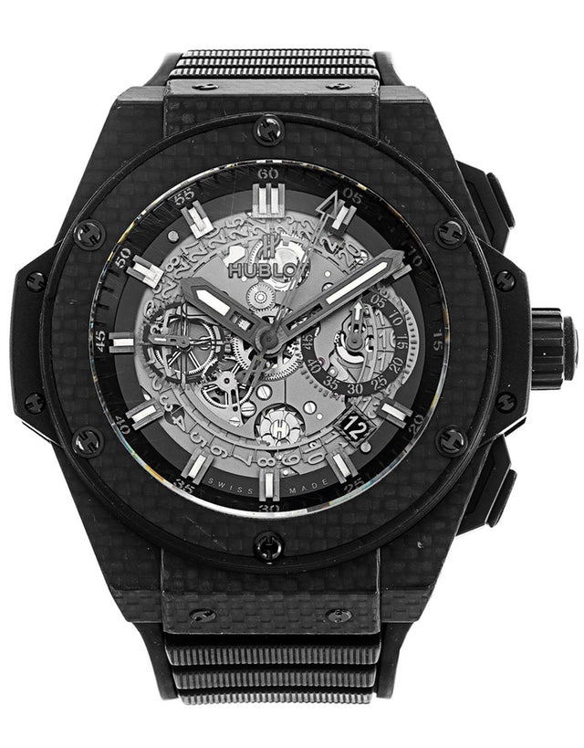 Hublot King Power Carbon mens watch