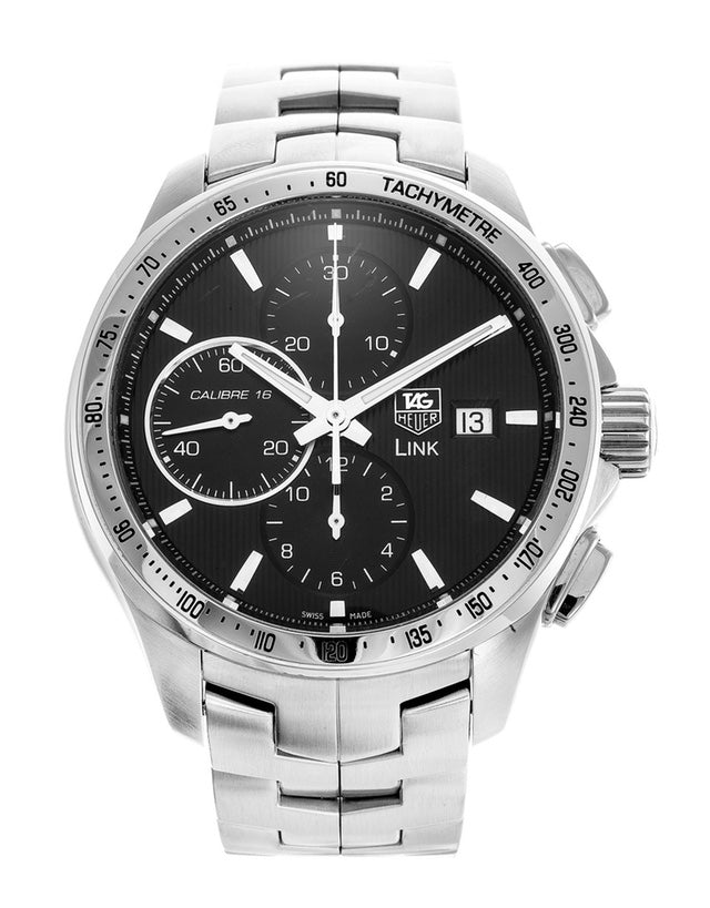 Tag Heuer Link Calibre 16 Automatic Chronograph Mens Watch
