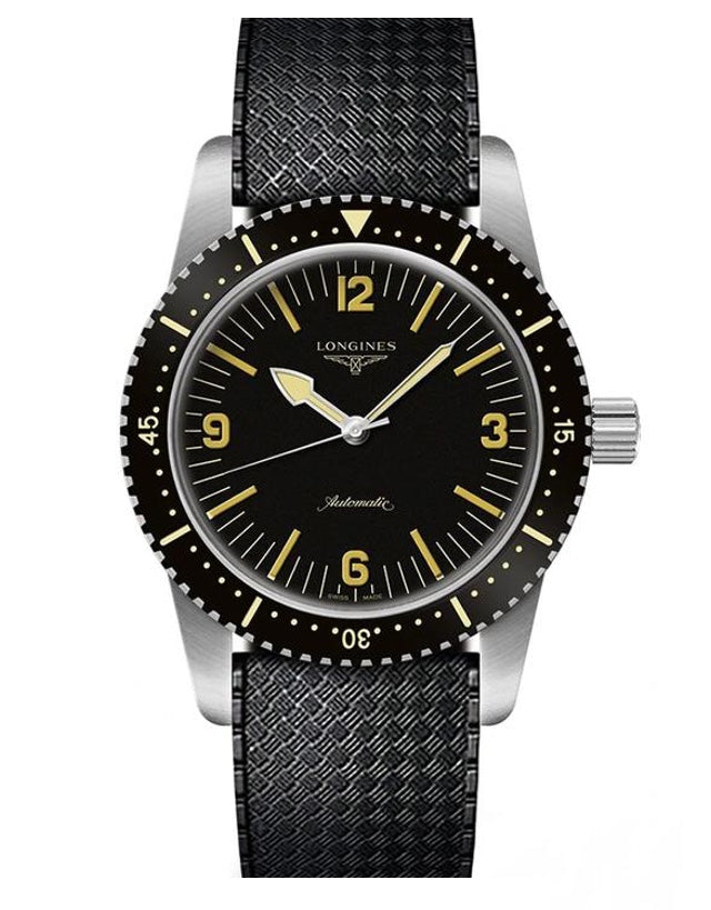 Longines Heritage Skin Diver Mens Watch
