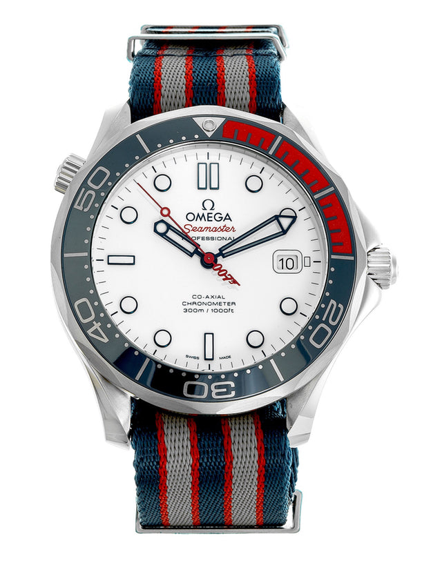 Omega Seamaster Diver 300m Co-Axial Automatic 41mm Mens Watch