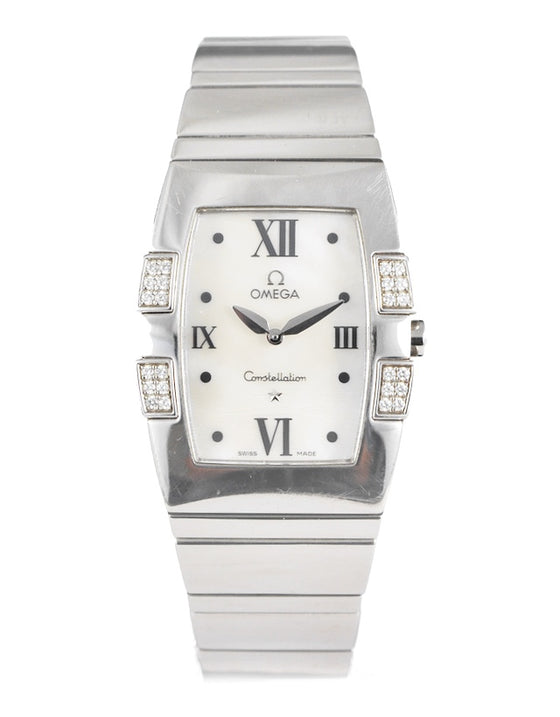 Omega Constellation Quadrella Ladies Watch