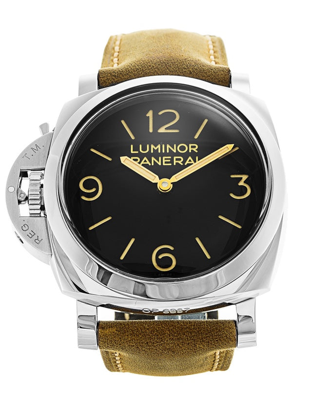 Panerai Luminor 1950 Left-Handed 3 Days Acciai Mens Watch PAM00557