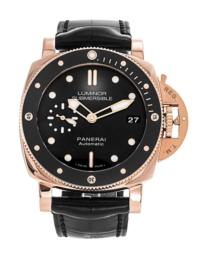 Panerai Luminor Submersible Mens Watch