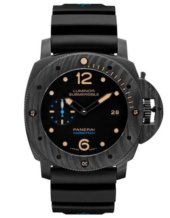 Panerai Luminor Submersible 1950 3 Days Automatic 47mm Black Carbon Men's Watch