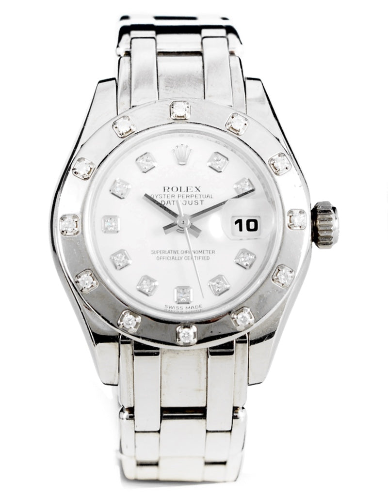 Rolex Pearlmaster White Dial Ladies watch