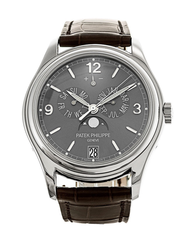 Patek Philippe Complications White Gold Mens Watch