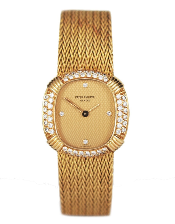 Patek Philippe Ellipse Yellow Gold Ladies Watch