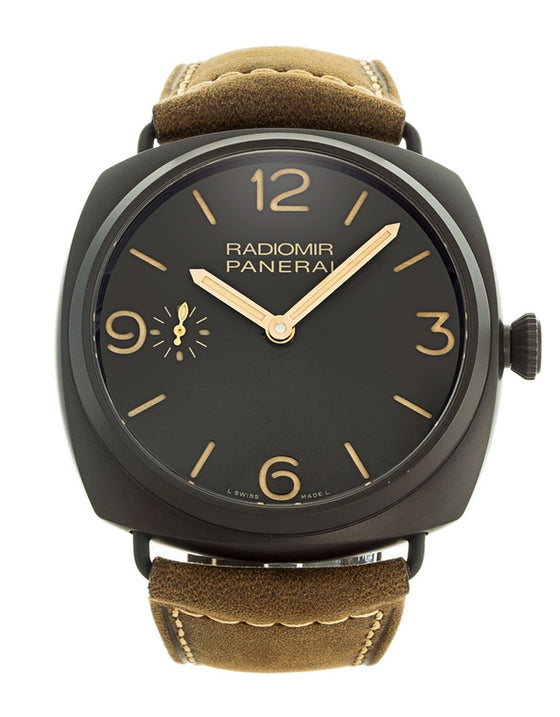 Panerai Radiomir Manual Ceramic Men's Watch