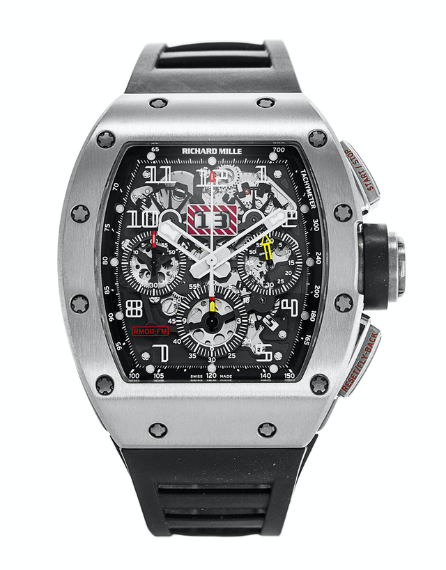 Richard Mille RM011 AH TI Felipe Massa Men's Watch