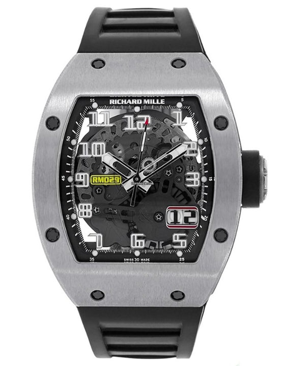 Richard Mille Automatic RM029 Titanium Mens Watch