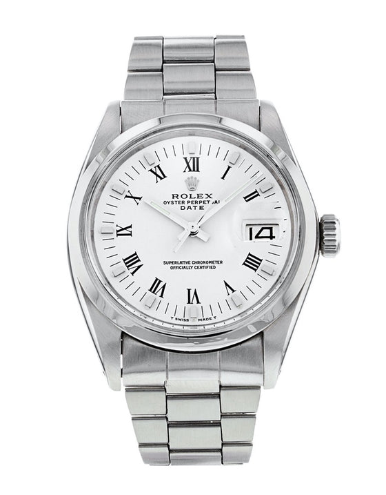 Rolex Oyster Perpetual Date Mens Watch