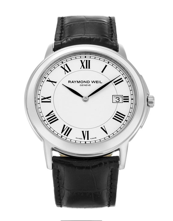 Raymond Weil Tradition White Dial Stainless Steel Men's Watch