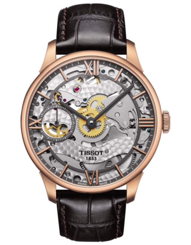 Tissot Chemin Des Tourelles Squelette Men's Watch