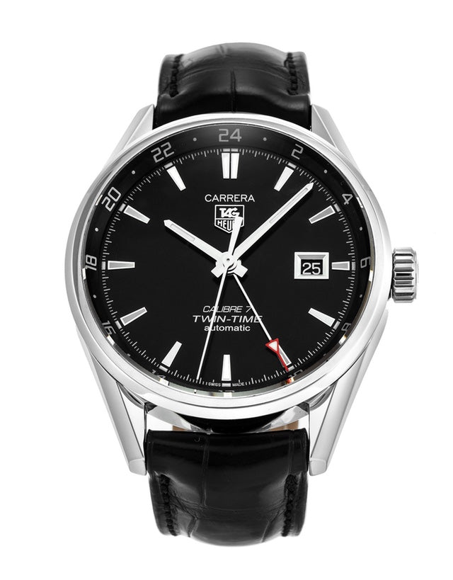 Tag Heuer Carrera Calibre 7 Twin Time Automatic Men's Watch_