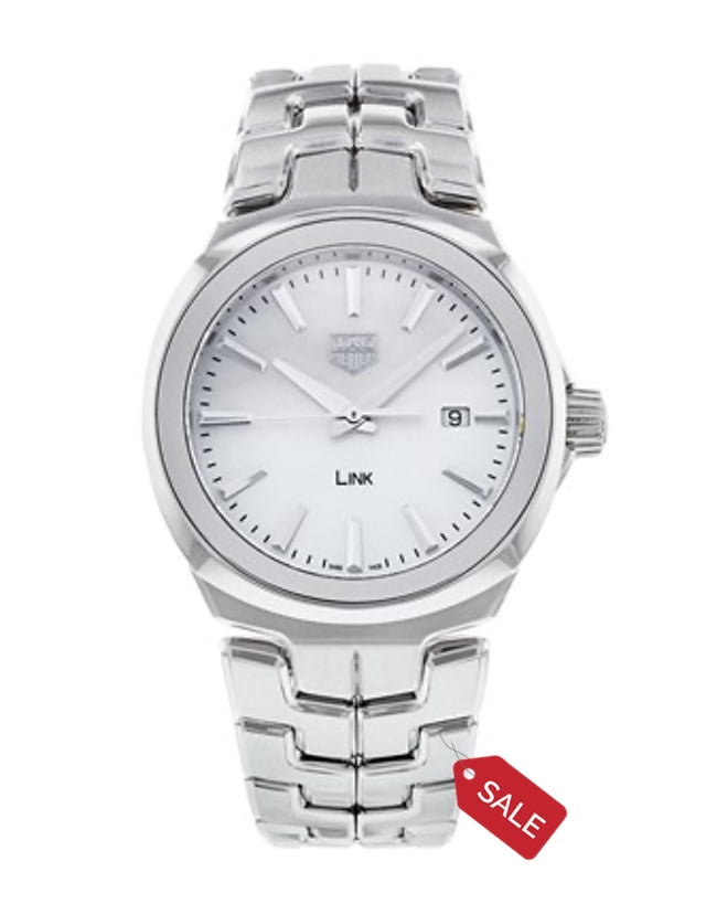 Tag Heuer Link Quartz 32Mm Mother Of Pearl Dial Women's Watch
