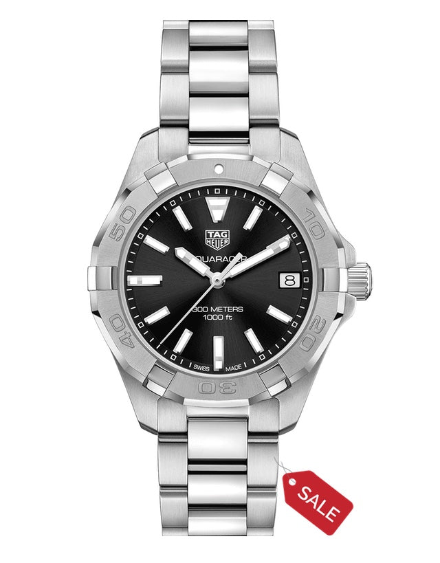 Tag Heuer Aquaracer Lady 300M 32Mm Black Dial Women's Watch