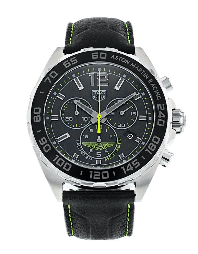 Tag Heuer Formula 1 Quartz Chronograph Aston Martin Racing Limited Edition Men's Watch
