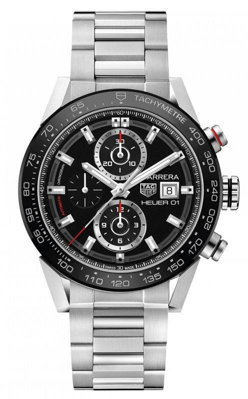 Tag Heuer Carrera Calibre Heuer 01 Automatic Steel Men's Watch