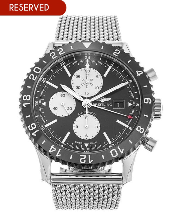 Breitling Chronoliner Mens Watch