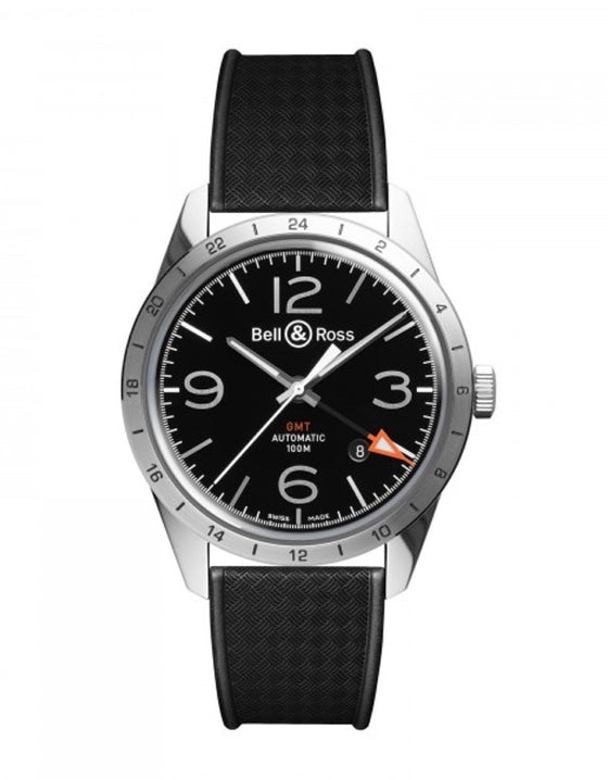 Bell & Ross Vintage BR 123 GMT Men's Watch