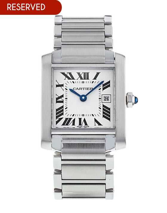 Cartier Tank Francaise Medium Midsize Watch