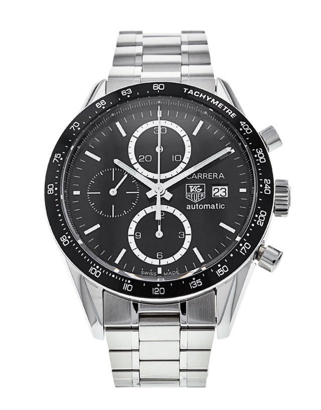 Tag Heuer Carrera Chronograph Tachymeter Mens Watch