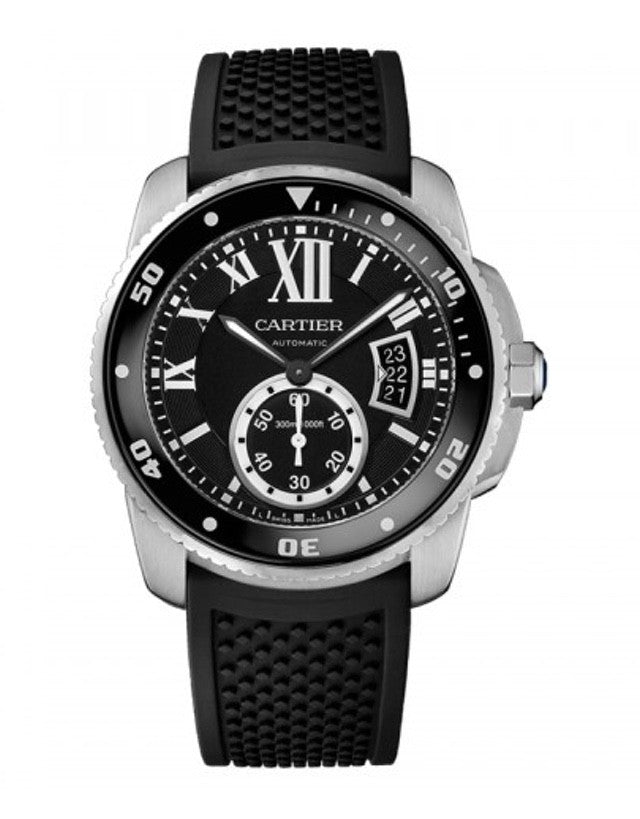 Cartier Calibre de Cartier Diver Carbon Men's Watch