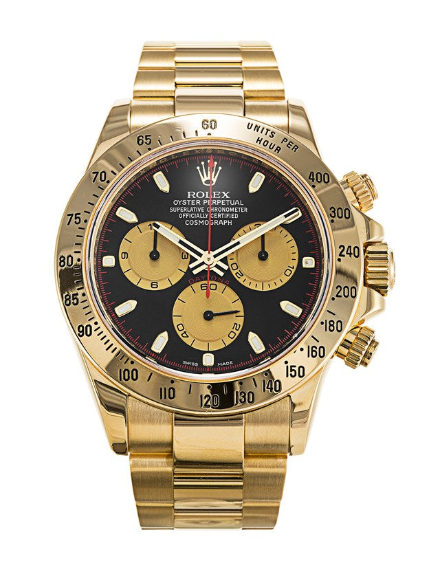 Rolex Daytona Yellow Gold Men's Watch