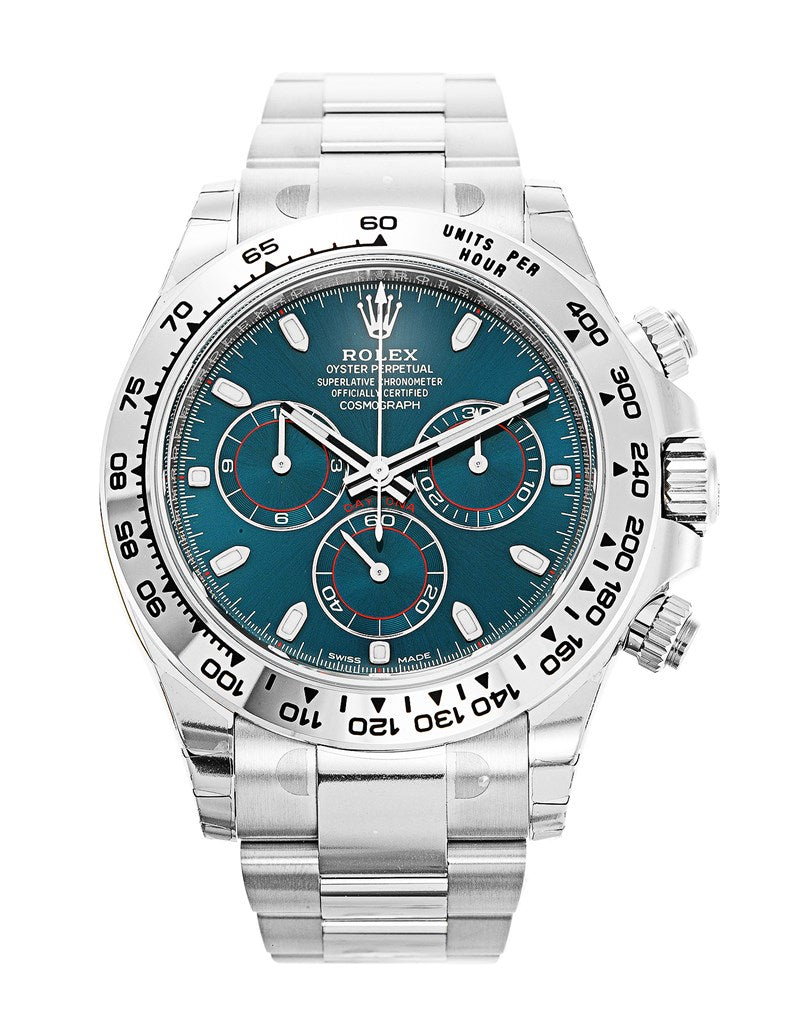Rolex Daytona Blue Dial Men's Watch .